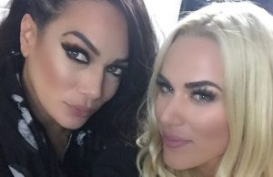 Nia Jax and Lana