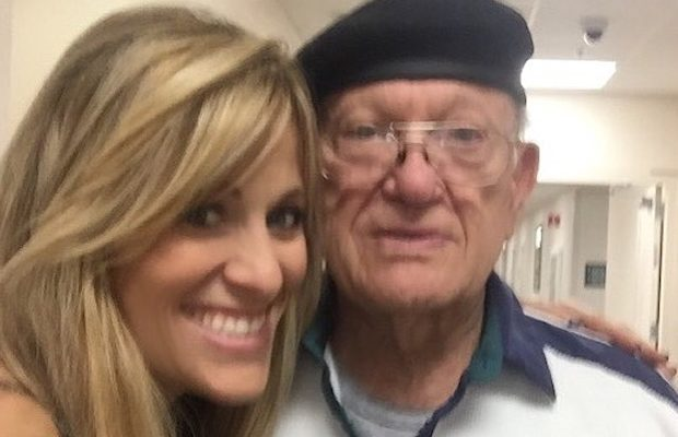 Lilian Garcia and her father