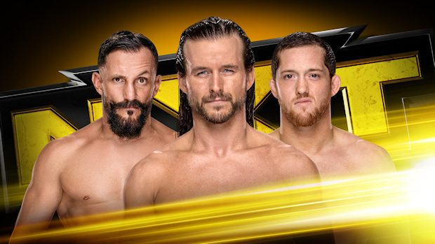 Adam Cole, Bobby Fish and Kyle O'Reilly