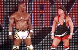 Shelton Benjamin and Chad Gable