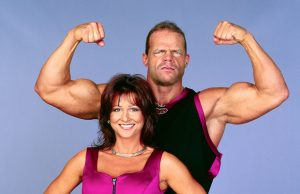 Lex Luger and Elizabeth