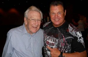"""Lance Russell and Jerry """"The King"""" Lawler"""