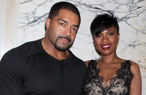 David Otunga and Jennifer Hudson