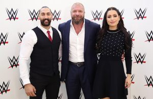 Nasser Alruwayeh, Triple H and Shadia Bseiso