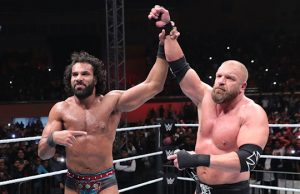 Jinder Mahal and Triple H