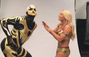Goldust and Mandy Rose