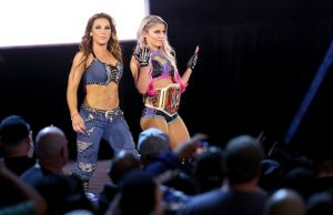 Mickie James and Alexa Bliss