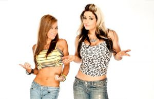 AJ Lee and Kaitlyn