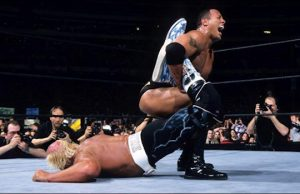 Hollywood Hulk Hogan vs. The Rock