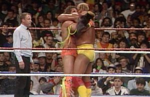 Hulk Hogan and Ultimate Warrior