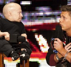 Verne Troyer and The Miz