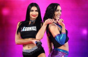 Billie Kay and Peyton Royce