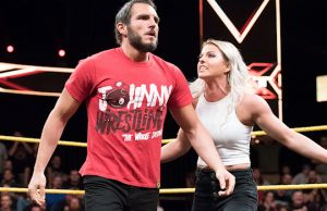 Johnny Gargano and Candice LeRae