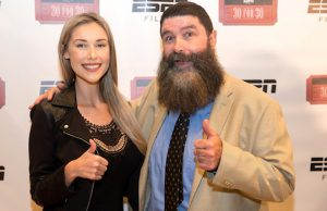 Noelle Foley and Mick Foley