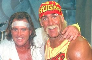 The Booty Man and Hulk Hogan