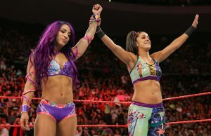 Sasha Banks and Bayley