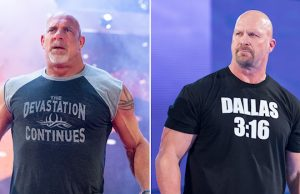 "Goldberg and ""Stone Cold"" Steve Austin"
