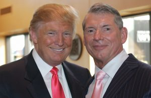 Donald Trump and Vince McMahon