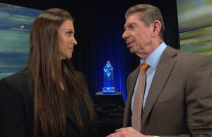 Stephanie McMahon and Mr. McMahon