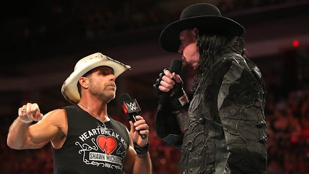 Shawn Michaels and Undertaker