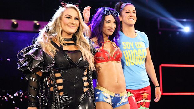 Natalya, Sasha Banks and Bayley