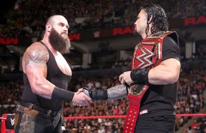 Braun Strowman and Roman Reigns