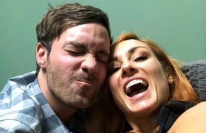 Becky Lynch and Jeff Dye