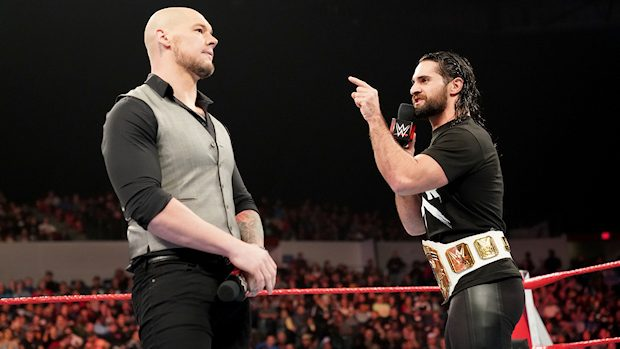 Seth Rollins and Baron Corbin