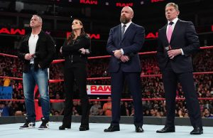 Shane McMahon, Stephanie McMahon, Triple H and Mr. McMahon