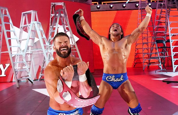 Bobby Roode and Chad Gable