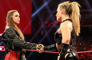Ronda Rousey and Natalya