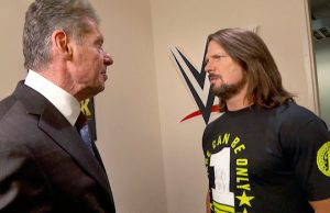 Mr. McMahon and AJ Styles