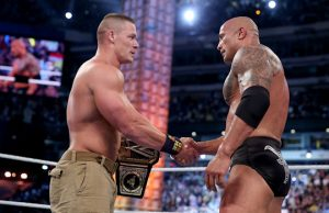 "John Cena and Dwayne ""The Rock"" Johnson"