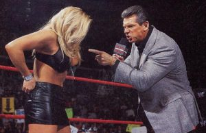 Mr. McMahon and Trish Stratus
