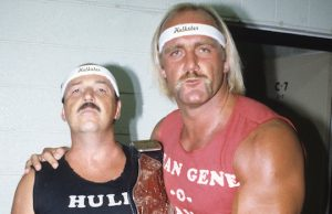 "Hulk Hogan and ""Mean"" Gene Okerlund"