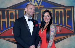 Corey Graves and wife Amy Polinsky