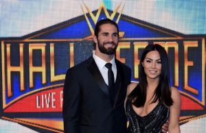 Seth Rollins and Sarah Alesandrelli