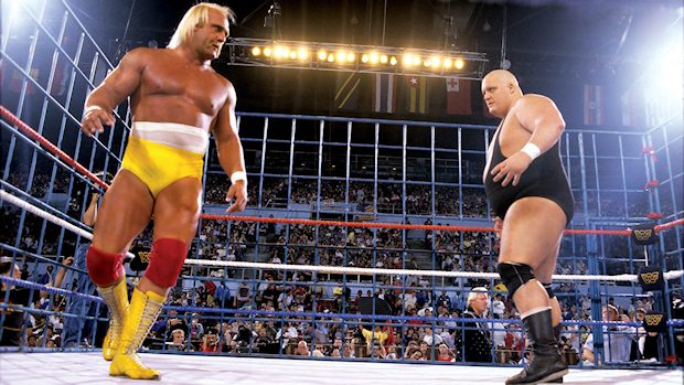 Hulk Hogan and King Kong Bundy
