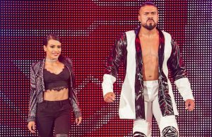 Andrade and Zelina Vega
