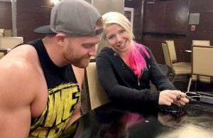 Buddy Murphy and Alexa Bliss