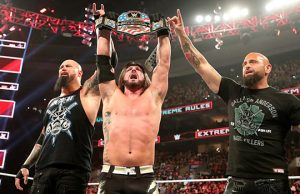 Luke Gallows, AJ Styles and Karl Anderson